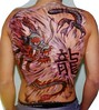draggon1 Tattoo bodypainting