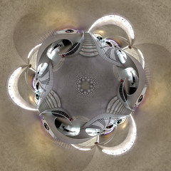 Planet New York :: Escher-Saarinen Hyperdimensional Transport Terminal (Sam Rohn - 360 Photography) Tags: nyc newyorkcity panorama newyork beautiful architecture circle geotagged photography photo airport interesting nikon 60s stitch interior 360 panoramic queens photograph sphere planet 1960s antoinedesaintexupry trippy escher coolpix5000 filmmaking stitched 1962 filmproduction 360x180 lepetitprince twa eerosaarinen spherical invisiblecities scouting 360 jfkairport littleprince escheresque midcentury mcescher 360x180 twaterminal filmlocation locationscouting hyperbolic stereographic planetoid locationscout flexify filmlocations littleplanet polarpanorama nylocations samrohn realvizstitcher littleplanets stereographicprojection smallplanets locationscouts 1080 thelitttleprince frhwofavs filmscout geo:lat=4064561 geo:lon=73777635