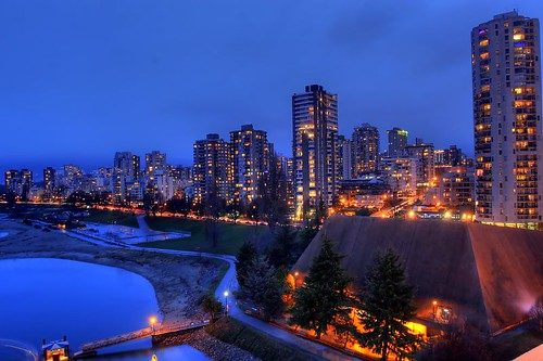 Vancouver HDR Shot