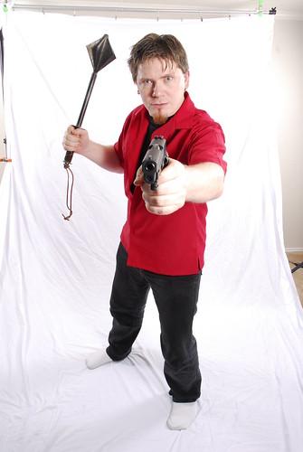 Mace and Gun