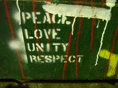 Peace Love Unity Respect