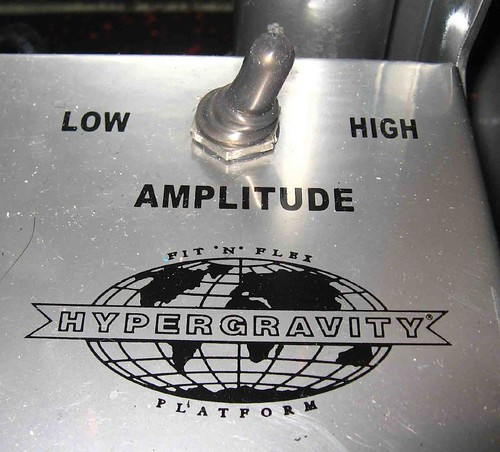Like everything Jackson we set the amplitude HIGH