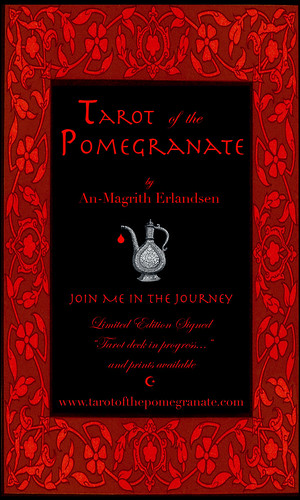 Tarot of the Pomegranate decks available!
