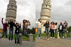 Pisa Combined jump (zh1yong) Tags: pisa leaningtowerofpisa towerofpisa torrependente