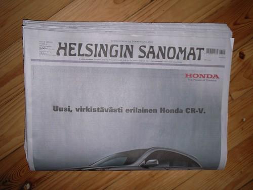 Helsingin sanomat lehti