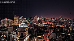 Nightline Buenos Aires (Nicolas Zonvi) Tags: city argentina skyline night noche buenosaires nocturnal nightshot ciudad stadt nocturna sofitel canonefs1855mm3556 nicolaszonvi