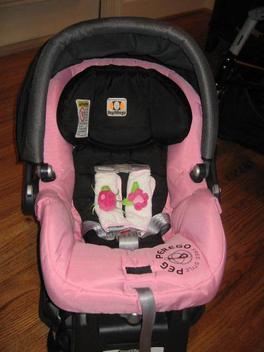 Peg Perego SIP Primo Viaggio Infant Car Seat in Free Style Rose