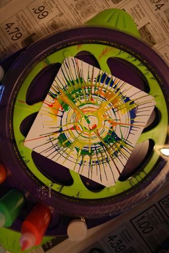 Voila! La Spin Art!