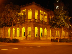 Rockhampton GPO at Night
