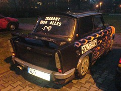 DSC00193 (tiroy) Tags: flames cartoon rules tuning trabant uberalles