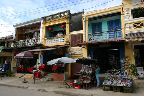 Hoi An Old Town street scene...