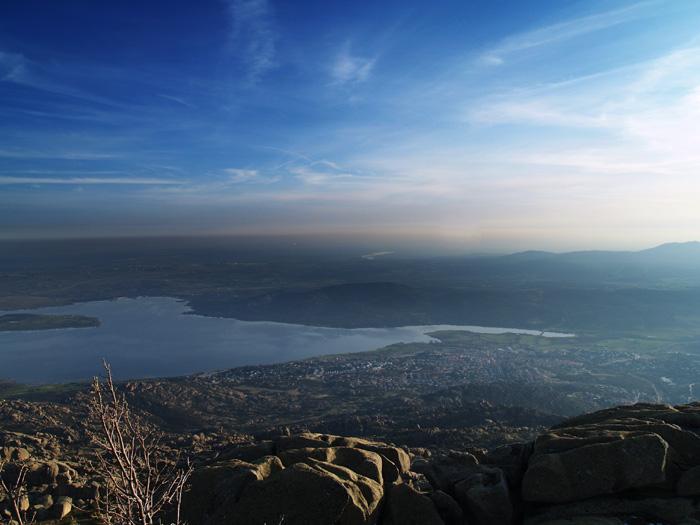 desde la cima de El Yelmo