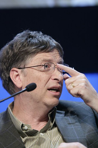 World Economic Forum 拍攝的 Bill Gates - World Economic Forum Annual Meeting Davos 2007。