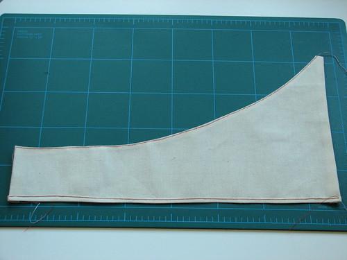 stitched pocket