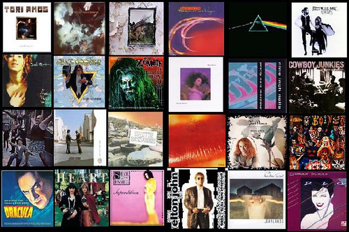 24 Albums I Want With Me on a Desert Island