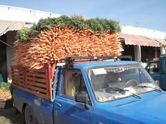 Souk des légumes près d'Agadir