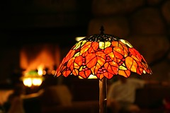 Grand Californian Hotel Tiffany Style Lamp