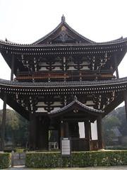 Sanmon Gate Tofukuji Temple