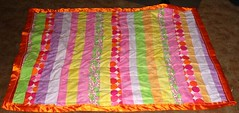 Linus Quilt - Electric Sherbert - Done!