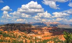 [フリー画像] [自然風景] [峡谷の風景] [雲の風景] [ブライスキャニオン国立公園] [アメリカ風景]      [フリー素材]