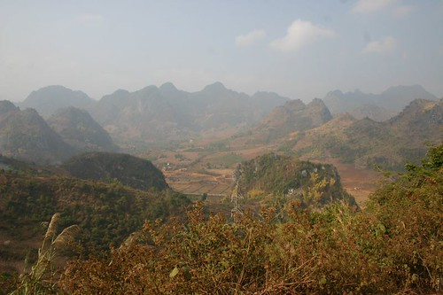 Mountain scenery near Dien Bien Phu in the western most corner of Vietnam