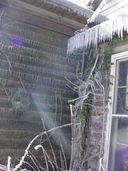 Icy corner!