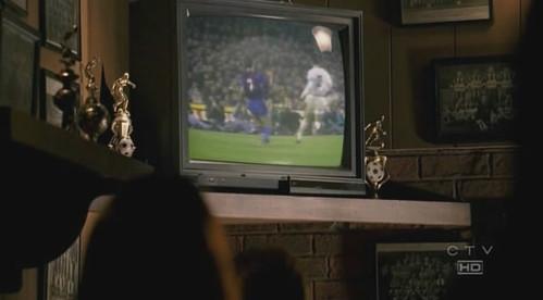 Gol del Barça al Madrid en Lost (centra Goicoetxea)