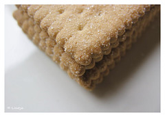 Sugared Biscuits (Lindje) Tags: food macro sugared koek