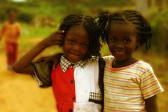 Liberia girls (LindsayStark) Tags: africa travel people war humanrights liberia humanitarian displaced humanitarianaid emergencyrelief postconflict waraffected conflictaffected