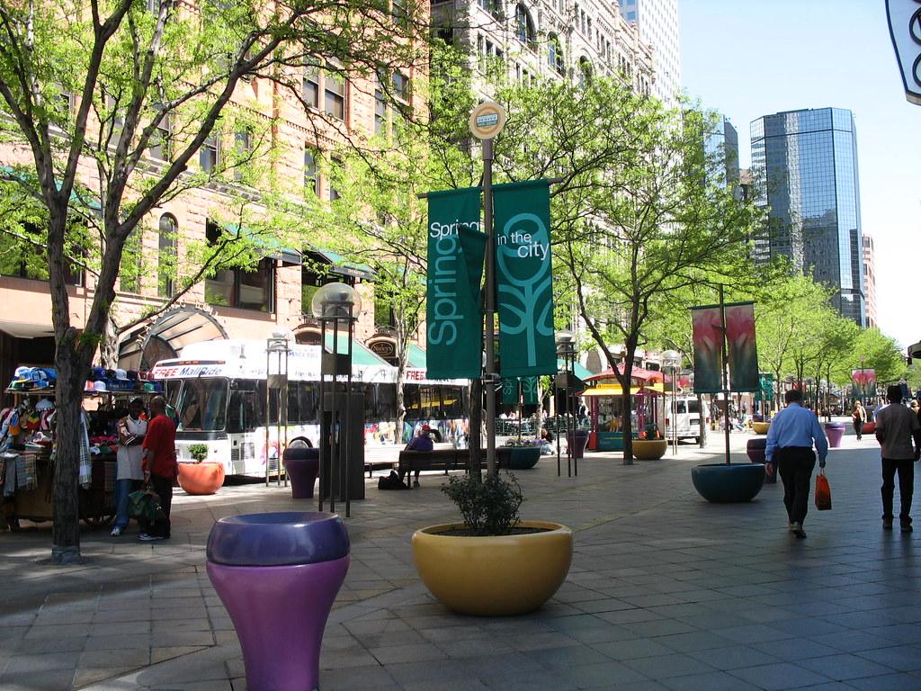 Denver Pedestrian area