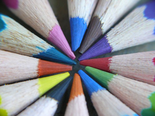 Macro Photography - Colour Pencils