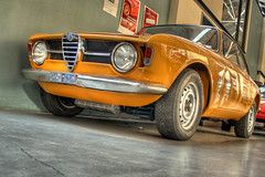 Alfa Romeo GT 1300 Junior (Ozan) Tags: auto berlin car voiture junior gt alfaromeo hdr araba 1300 berlijn meilenwerk bertone ozan  ph