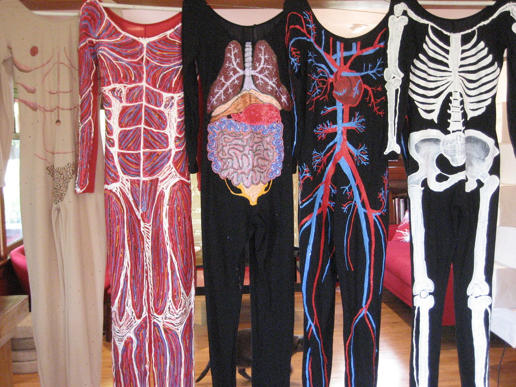 costumes for body strip