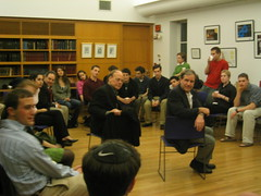 Reps. Cohen, Yarmuth, and Hodes at Harvard Hillel