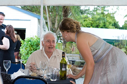 Grandfather and Grandaughter-in-Law
