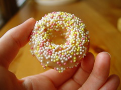 Mini Donut with Sprinkles