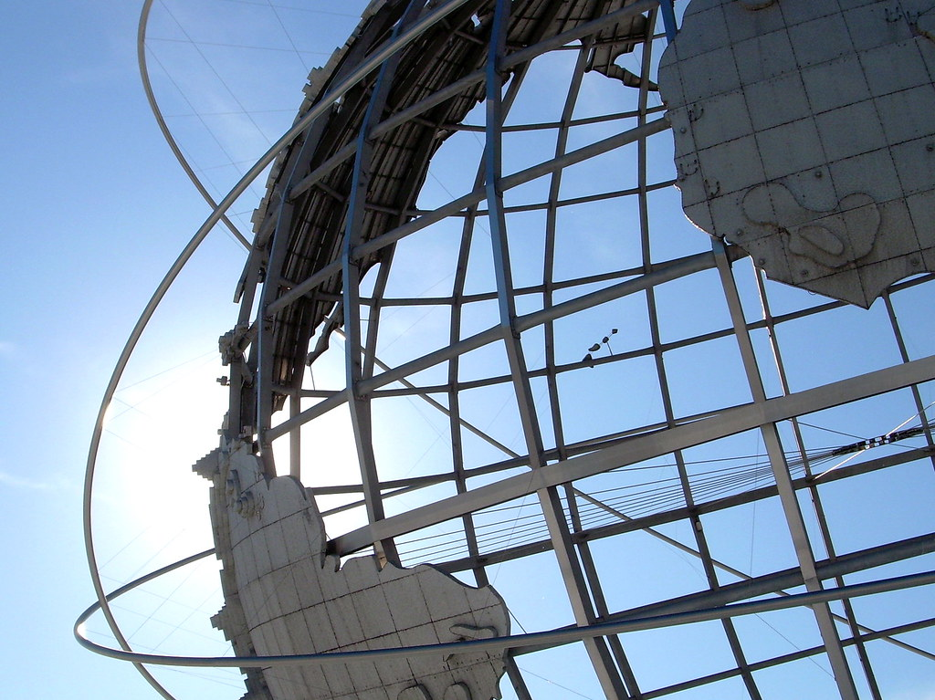 unisphere, flushing meadows park