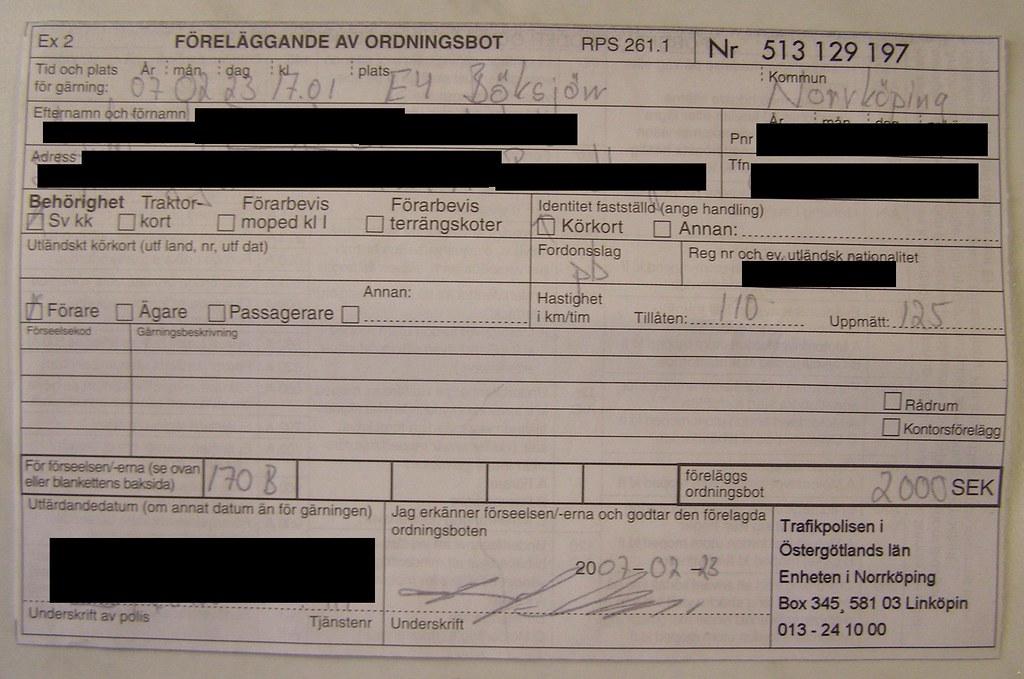 Fined again