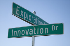 At the corner of Innovation and Exploration