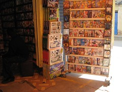DVD Booth in La Cancha