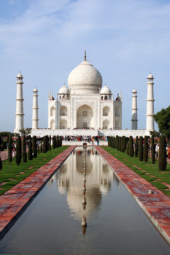 Taj Mahal, the classic view