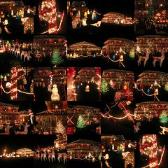 Betsy Ross Collage (FOTOGRAFIA.Nelo.Esteves) Tags: christmas xmas usa beautiful collage night geotagged lights us newjersey interestingness amazing unitedstates mosaic gorgeous great nj 2006 christmaslights explor