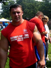 Michael Sidorychev (124) (Pete90291) Tags: pecs muscular chest tattoos strong muscleman biceps abs strongman strongmen worldsstrongestman hugethighs hugelegs michaelsidorychev tattooedmuscle mikhailsidorychev