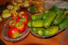 apples and pickles (marzipan) (Sail Brooklyn) Tags: brooklyn williamsburg marzipan fortunatobrothers