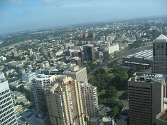 View of Sydney from World Square (KittyCate) Tags: sydney australia worldsquare centralrailwaystation