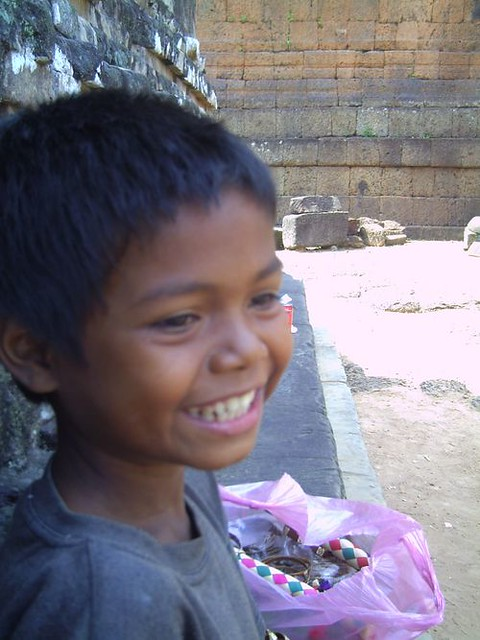 My Name is Wayne..Cambodian Boy at Angkor Wat