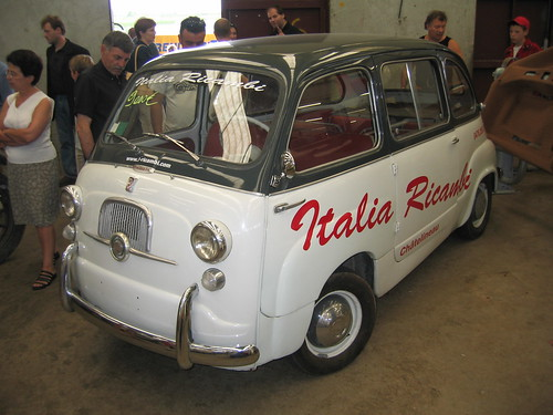 The Fiat Multipla is the name given to two different automobiles