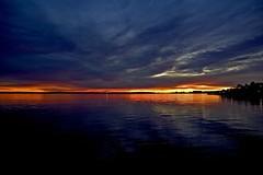 Reflecting sunrise (Mixmaster) Tags: ocean blue reflection norway clouds sunrise geotagged norge interestingness skies norwegen explore oil noruega refinery tanker norvegia oslofjord oslofjorden norvege vestfold norja sgrdstrand mybestshots norveska asgardstrand norvegienne p1f1 aplusphoto
