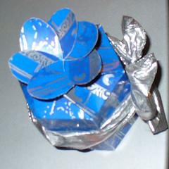 confezione regalo fatta a mano