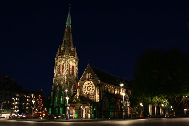 Christchurch by Night